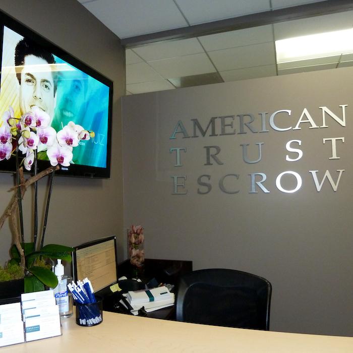 american trust escrow